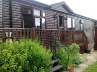 Pre-owned River frontage Chalet for fishing enthusiast/nature lover/Scottish Borders