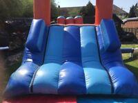 Bouncy castle fun run