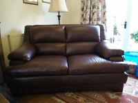 La Z Boy Two Seater Leather Sofas