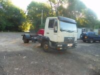 MAN LE 8.140 CHASSIS CAB 7.5 TRUCK