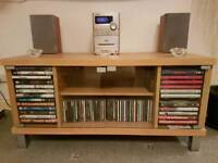 Tv/Stereo Cabinet with storage