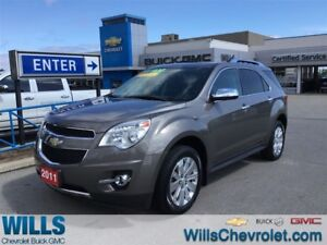 2011 Chevrolet Equinox 2LT| LEATHER| SUNROOF | HEATED SEATS