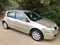 2007 Renault Megane 1.6 dynamique stunning example with low mileage only 50k!