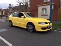 Seat Leon 1.8 20v Cupra R Yellow 2005 Model 5 Door Hatchack FSH MOT