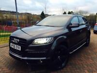AUDI Q7 3.0 TDI S LINE QUATTRO FULL FACELIFT CONVERSION FULLY LOADED IMMACULATE CONDITION * PX