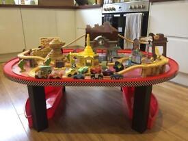 Kidkraft radiator Springs table & track set