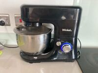 Kitchen stand mixer with attachments and blender