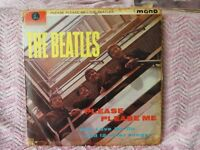 The Beatles Please Please Me LP plus Long Tall Sally and Twist and Shout EP's