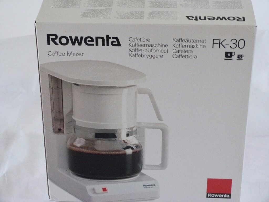 Unused Rowenta Filter Coffee Maker In York North Yorkshire Gumtree