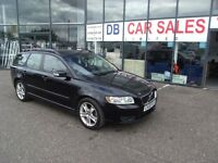 2008 08 VOLVO V50 1.8 SE 5D 124 BHP **** GUARANTEED FINANCE **** PART EX WELCOME ****