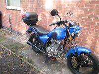 125cc Motorcycle 15 Reg