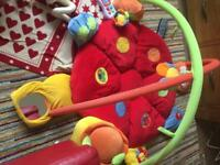 Mamas and papas lotty ladybird play gym