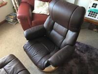 La z boy Nordic Recliner Swivel Chair ..New.. Lazy Boy sofa office