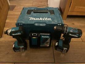 Makita DLX2283TJ Combi Pack, 18 V