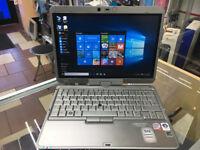 FAST NETBOOK LAPTOP/ WINDOWS 10 HP COMPAQ 2710P LAPTOP/ 4GB RAM. TOUCH SCREEN