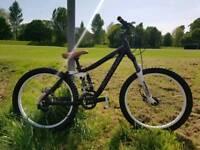 Kona Stinky 24 teen dh bike
