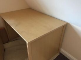 Desk (120cm length) for free