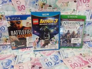 Cash for your video games, consoles, and Accessories. Busters Pawn! Most accepted! Playstation, Gameboy, Xbox, Nintendo!