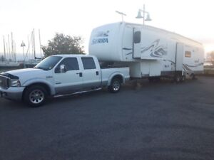 2006 SIERRA BY FOREST RIVER ~ 5TH WHEEL - 3 SLIDE OUTS