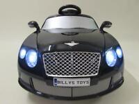 Bentley GTC ride on cars with parental controls brand new