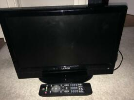"Luxor 16"" LCD TV with remote"