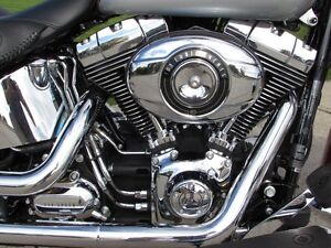 2014 harley-davidson FLSTN Softail Deluxe  103  2,900 KM and ONL London Ontario image 14