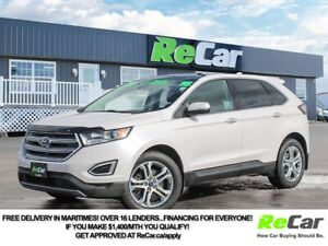 2016 Ford Edge Titanium AWD | HEATED LEATHER | NAV | BACK UP...