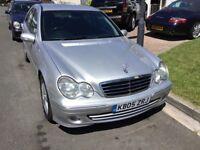 Mercedes Benz c320se automatic advantgarde 2005 facelift model 4 door saloon mot march 2019