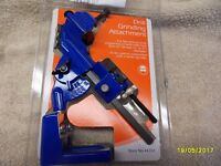 a grinder attachment for sharpening drill bits