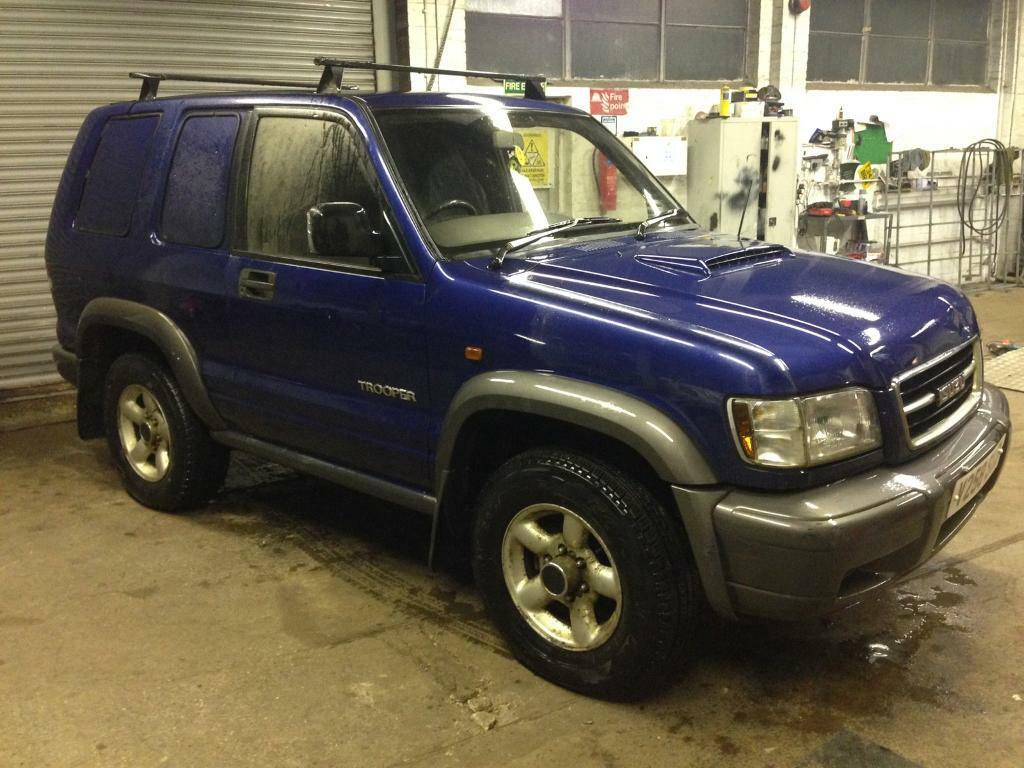 1999 Isuzu Trooper 3.0 Turbo Diesel Manual 4x4 *NEW SERVICE PARTS*