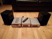 Yamaha RX-E100 'Pianocraft' Natural Sound hi-fi mini system: great cond + amazing sound - £90 ono