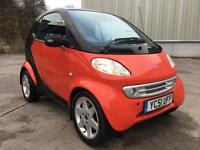 Stunning 2001 51 Smart City Coupe Pulse 3Dr **Only 48000+Full History+1 Years Mot**