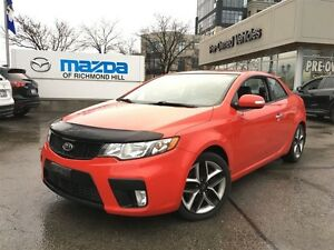 2010 Kia Forte Koup SX/MANUAL/COUPE/LEATHER/SUNROOF