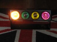 Portable disco light set ( 4 lamps )