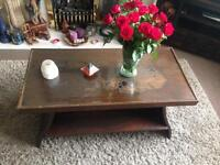 Chinese carving coffee table