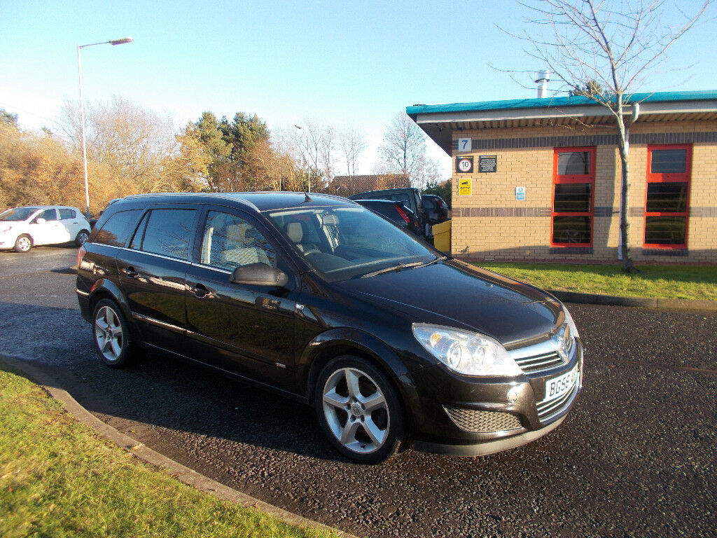 VAUXHALL ASTRA 1.7 CDTI DIESEL SRI ESTATE BLACK 2008 BARGAIN ONLY £1395 *LOOK* PX/DELIVERY