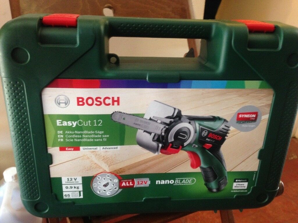brand new bosch easycut 12 cordless nanoblade saw | in st albans