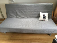 IKEA sofa bed - very comfortable and perfect condition, with a greay cover, ONLY £169!!
