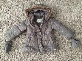 Girls 18-24 month John Rocha Coat