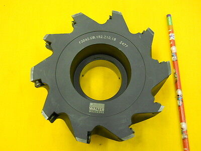 New Carbide Insert Face Mill Milling Cutter Walter Waukesha F3042.ub.152.z10.18