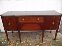 MAHOGANY REPRODUCTION GEORGIAN CLASSIC SIDEBOARD GOOD CONDITION