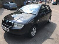 2002 Skoda FABIA with 66,000 miles and MOT until April 11 2019