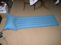 Camping Bed Inflatable Mattress Only £3 Red One Side blue The Other Side Weymouth