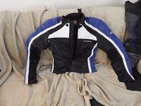 Motorbike Leathers: Ladies Hein Gericke Jacket (42) and Buffalo Trousers (12)