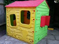Kids playhouse in good condition, disassembled and ready to go