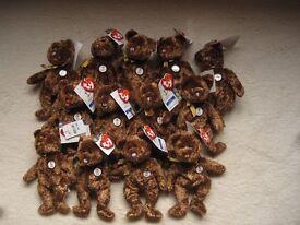Ty Beanie Baby FIFA Bears