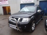 Nissan Navara tekna dci,stunning looking pick up,full leather heated seats,runs and drives as new