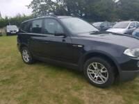 BMW X3 SE estate 2007 mot fsh cheap 4x4 kent bargain diesel manual