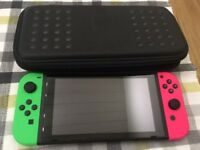Nintendo Switch 32GB Console with Pink / Green Joy-Con - Boxed