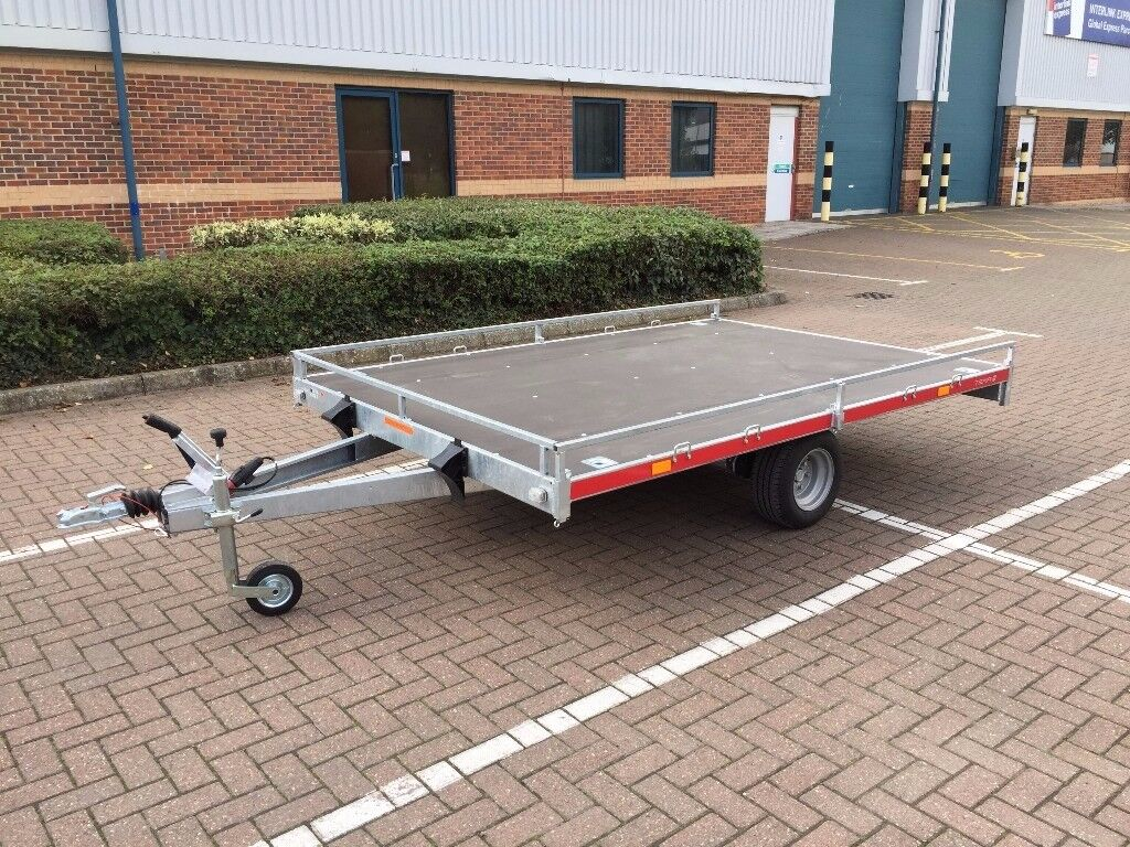 Tema trailer with brake, lawn mower , quad , Transporter Recovery 9'8 x 6'6